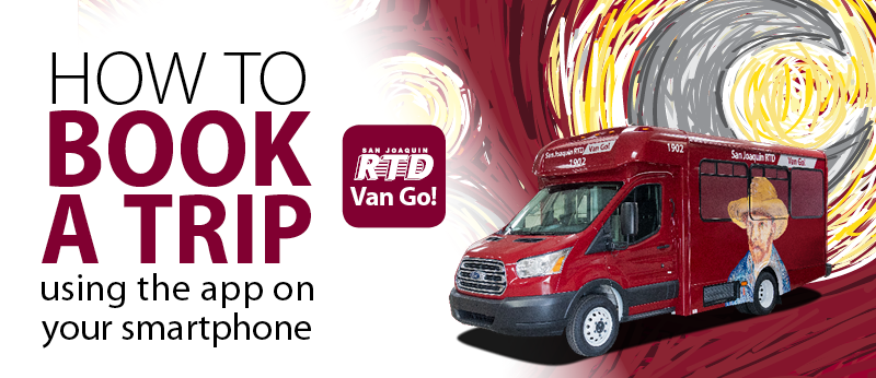 RTD Van Go! How to Book a Trip using the app on your smartphone