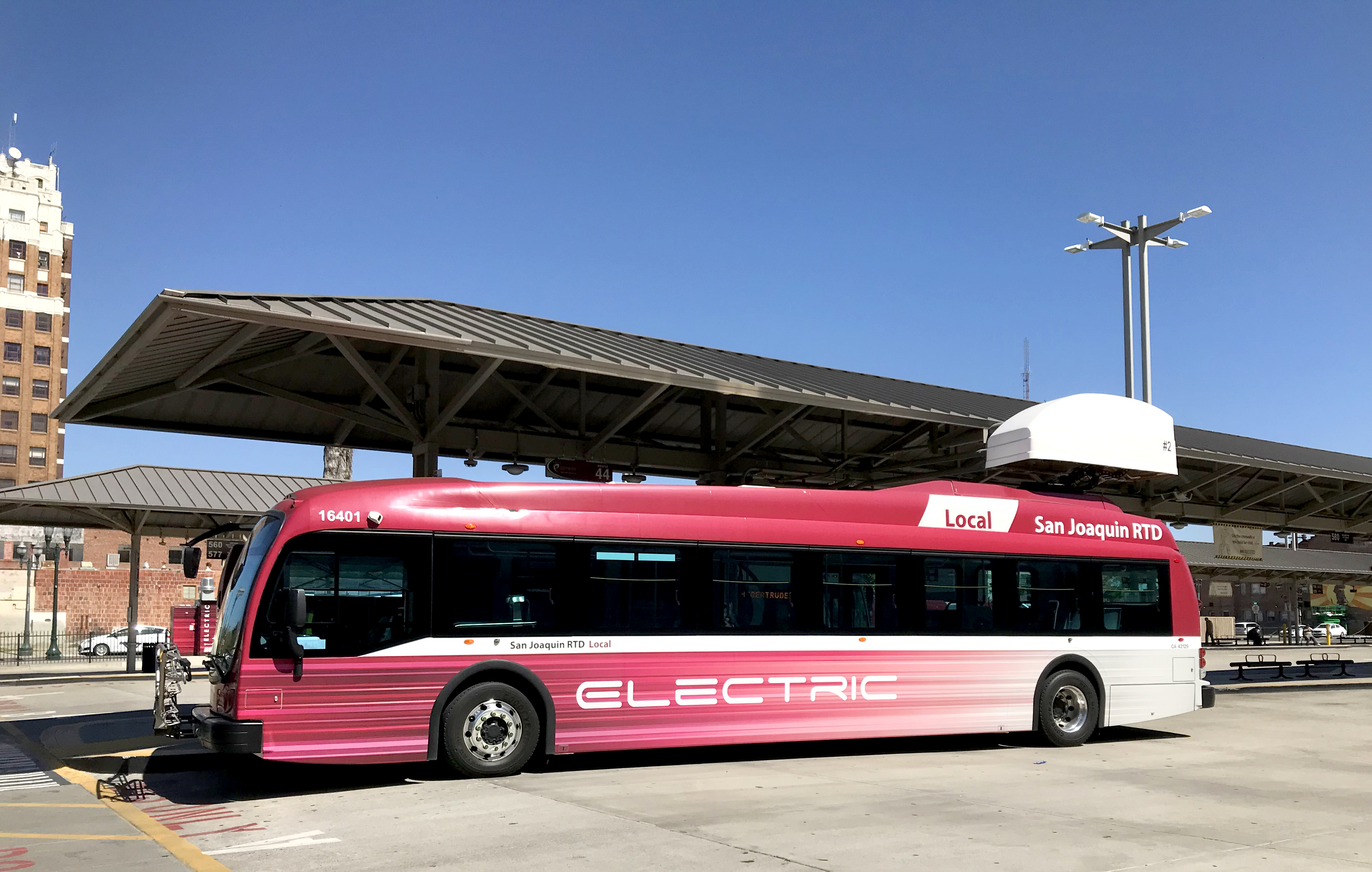 RTD Electric Local Bus