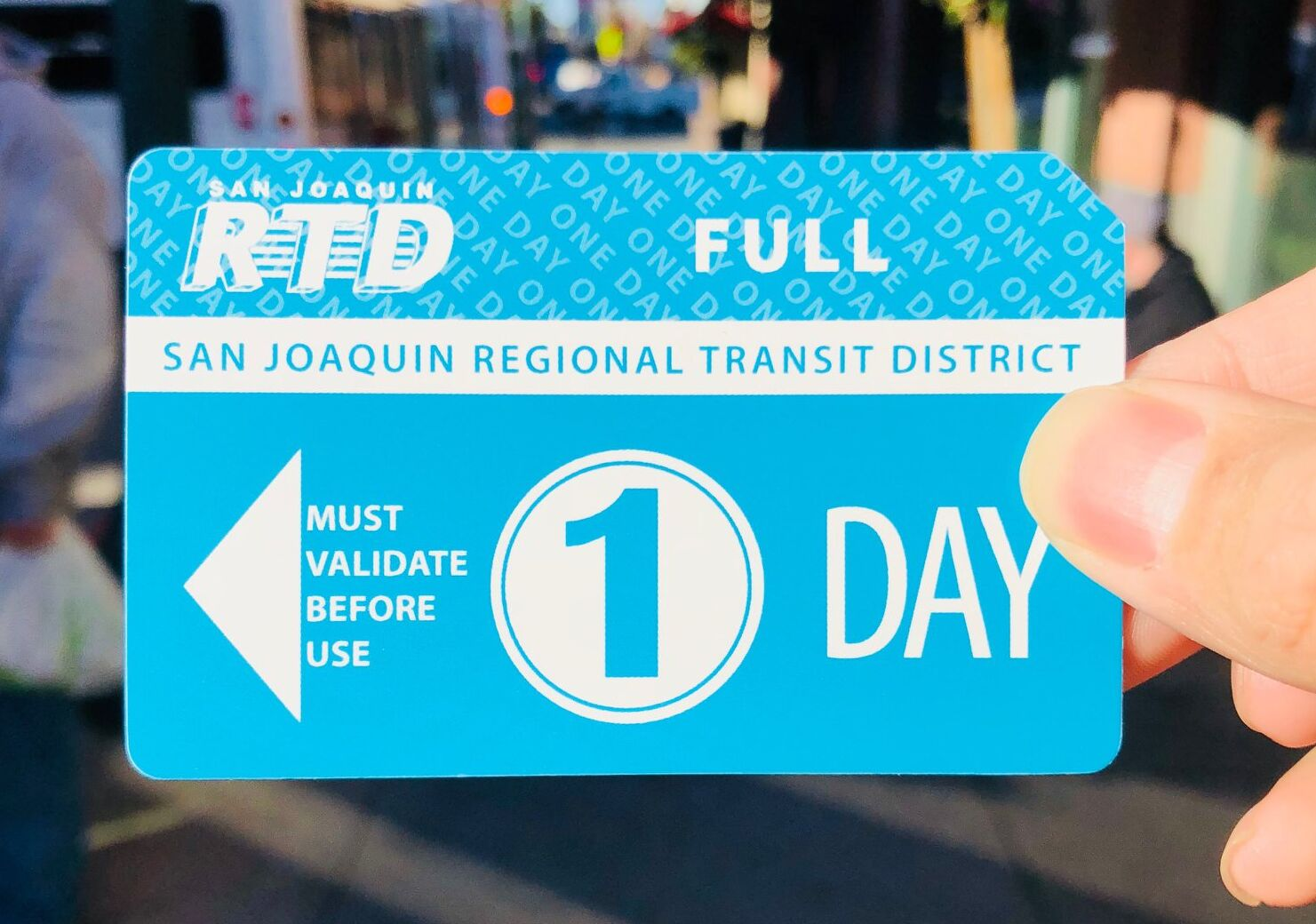 Photo of 1-day bus pass
