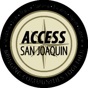 Access San Joaquin Logo - Bringing Communities Together