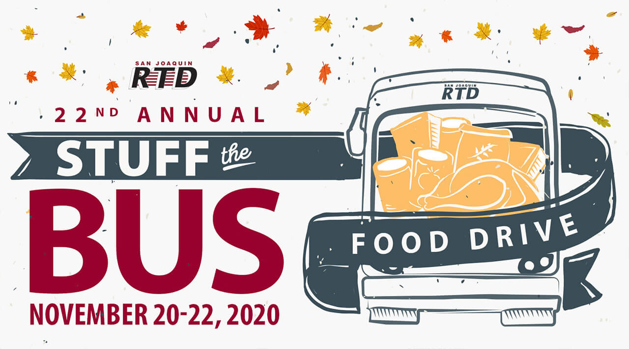 Stuff the Bus - Nov. 20-22, 2020
