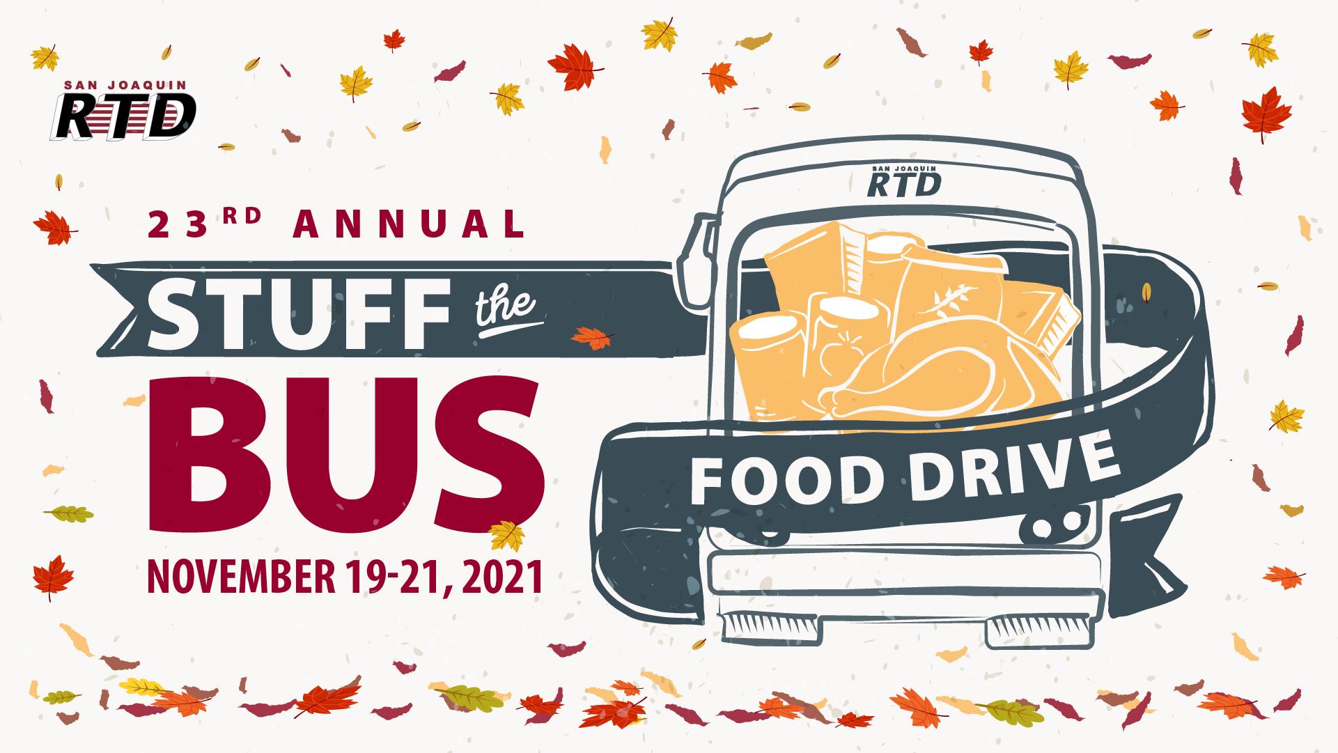 Stuff the Bus - Nov. 20-22, 2020
